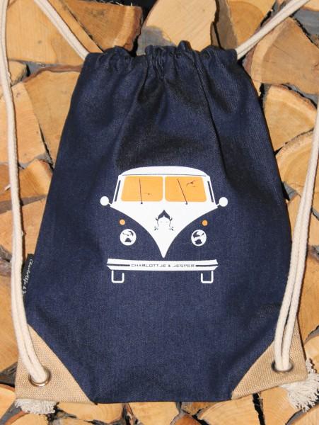 Bus Jeans-Rucksack navy