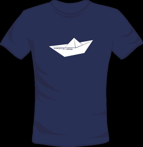 Papierschiff navy