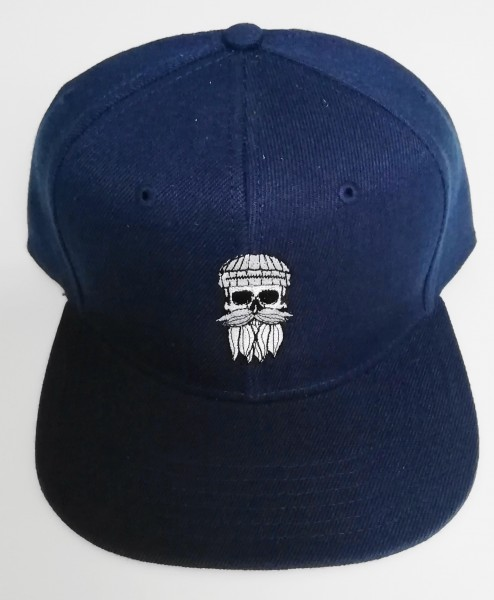 Snapback Cap Hipster Seemann navy