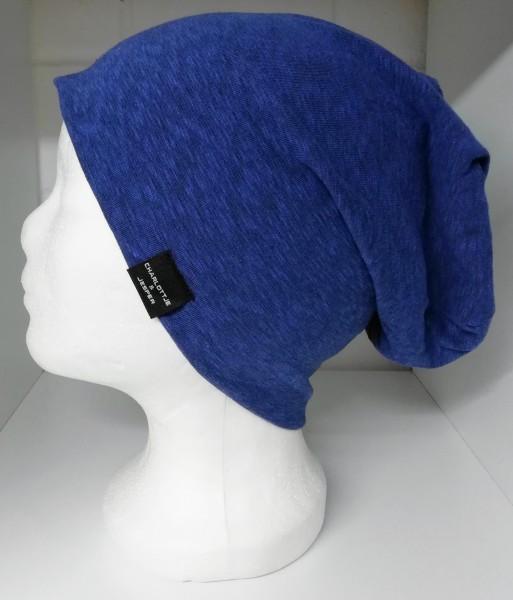 Sommer-Beanie Utrecht blau melange
