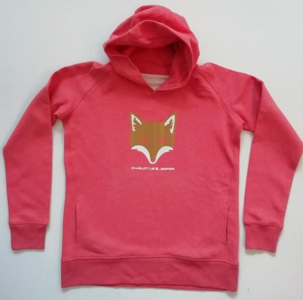 Fuchs Pulli rot melange