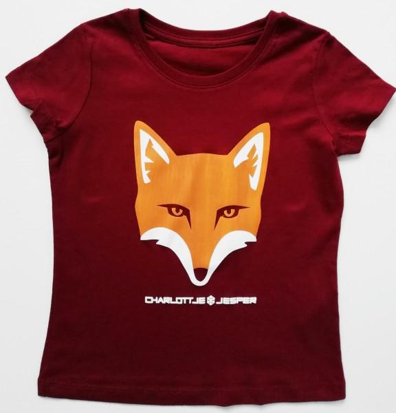 Fuchs weinrot Meisje