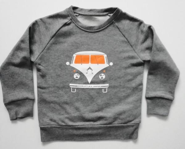 Bus Pulli grey