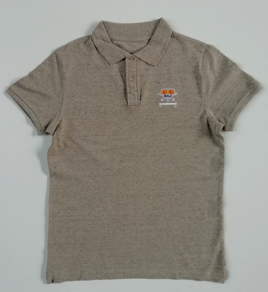Bus Polo Shirt beige melange