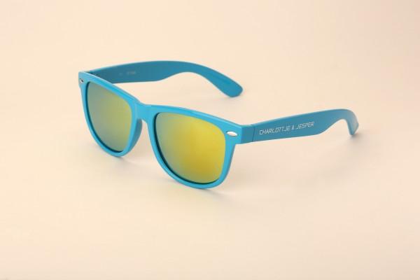 Sonnenbrille hellblau SP Charlottje & Jesper