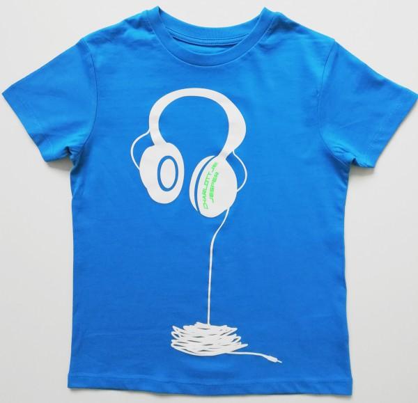 Kopfhörer royal blau Jonge