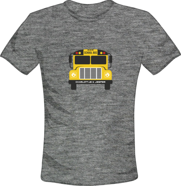 School Bus grey melange