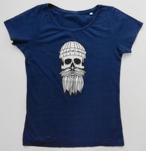 Hipster Seemann jeansblau