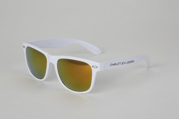 Sonnenbrille weiß SP Charlottje & Jesper