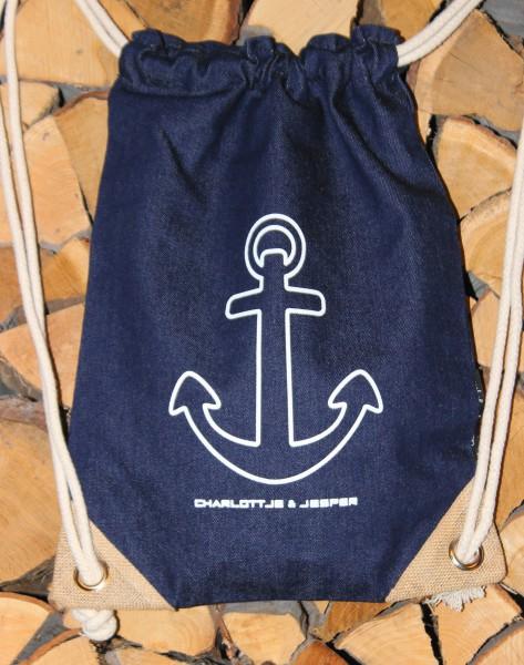 Anker Jeans-Rucksack navy