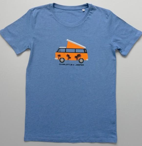 Camper hellblau melange