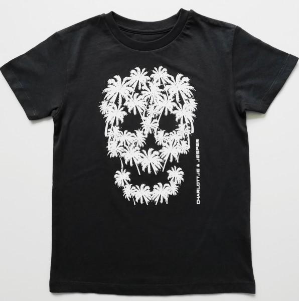 Palmen Totenkopf dunkelgrau Jonge
