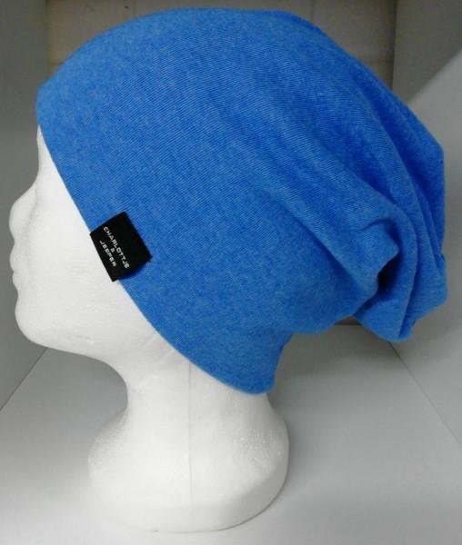 Sommer-Beanie groß Haarlem hellblau